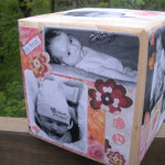 Modge Podge Baby Photo Cube