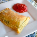 Egg Roll Wrapper Calzones