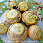 Chunky Chocolate Yellow Squash Muffins