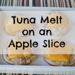 Apple Tuna Melts
