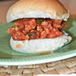Butternut Squash and Spinach Sloppy Joes