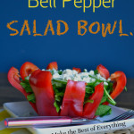 Bell Pepper Salad Bowls