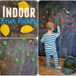 Indoor Fruit Picking- Toddler Activity