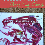 Toddler-Made Greeting Card