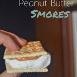 Saltine and Peanut Butter Smores