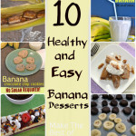 10 Healthy Banana Dessert Recipes- and a $100 Amazon gift card giveaway!