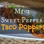 Mini Sweet Pepper Tacos