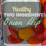 Healthy Onion Dip