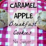 Caramel Apple Breakfast Cookies