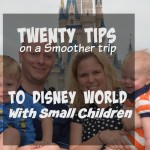 Traveling to Disney with small children