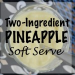 Pineapple Yogurt Soft Serve