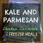 Kale and Parmesan Rice Casserole
