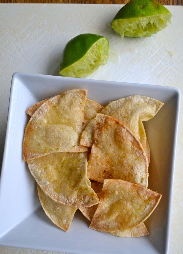 Tortilla chips lime