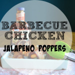 Barbecue Chicken Jalapeno Poppers
