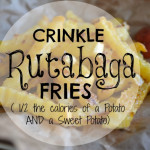Crinkle Rutabaga Fries