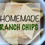 DIY Ranch Tortilla Chips