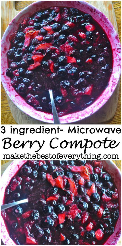 Microwave Berry Compote