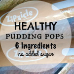 DIY Healthy Chocolate Pudding Pops