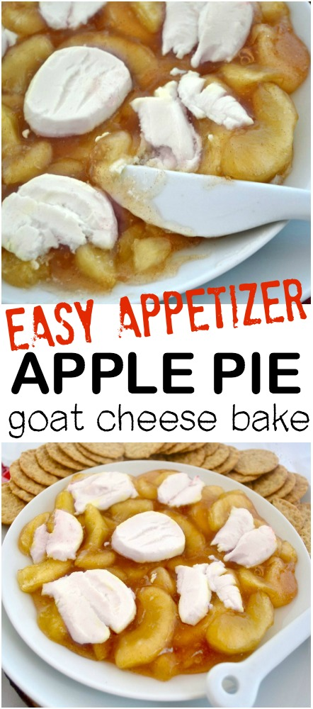 Apple Pie Goat Cheese Appetizer 001