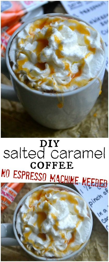 Caramel Coffee no espresso machine needed
