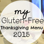 Gluten-Free Thanksgiving Menu