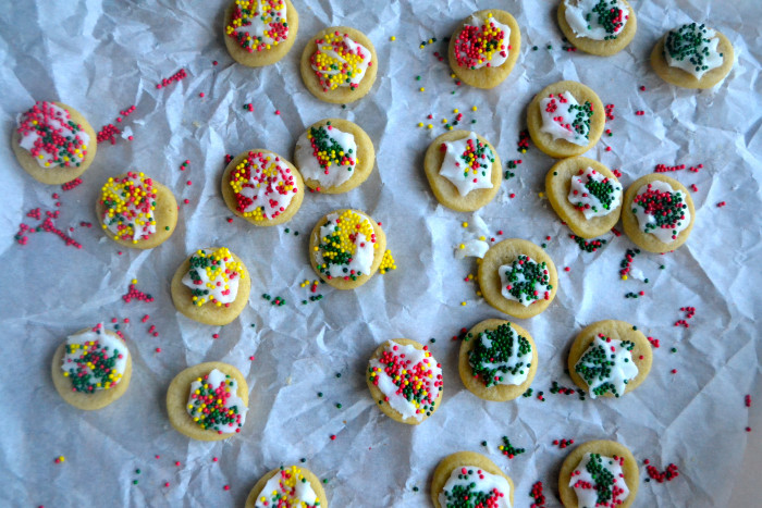 christmas cookie decorating doesnt have to be complicated i used pre made white frosting and some sprinkles you could always have your elf leave out - Christmas Cookie Decorating Supplies