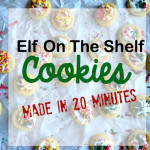 Elf on the Shelf -Mini Sugar Cookies