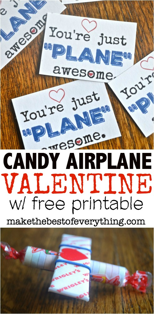 Just plane awesome valentine