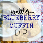 Blueberry Muffin Ricotta Dip