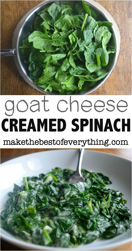 Goat Cheese Creamed Spinach 01