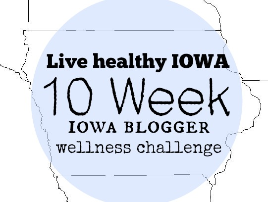 Iowa blogger wellness chllenge