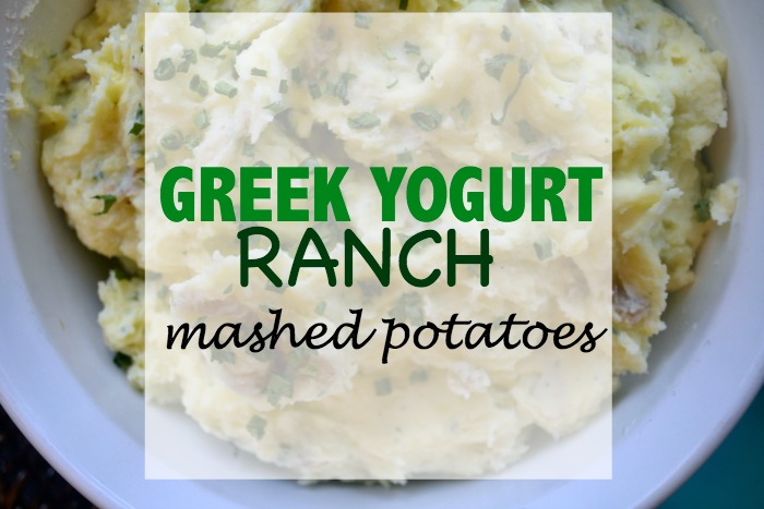 Greek Yogurt Ranch Mashed Potatoes- Instant Pot