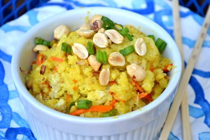 coconutcurry friedrice