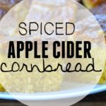 Spiced Apple Cider Cornbread- Gluten-Free