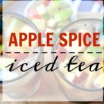Autumn Apple Spice Iced Tea