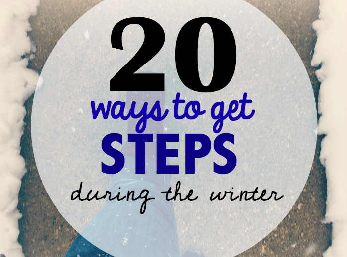20 Creative Ways to get steps in during the winter- Live Healthy Iowa & plus a giveaway!