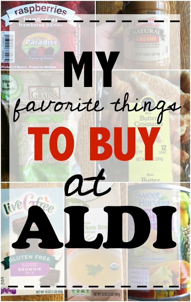 My favorite things to buy at Aldi