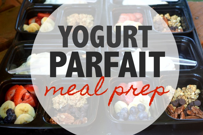Yogurt Parfait Meal Prep & on the go Dunkin Donuts Iced Coffee
