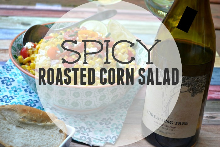 Spicy Roasted Corn Salad