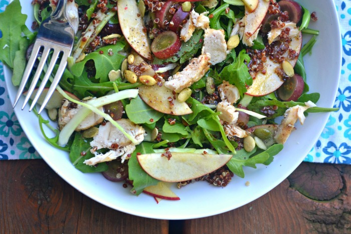 Copycat Panera Ancient Grain, Arugula and Chicken Salad