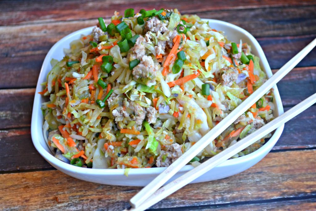 Egg Roll Filling Dinner Bowl – Instant Pot Recipe