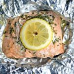Instant Pot Honey Lemon Garlic Salmon Foil Packets – Video