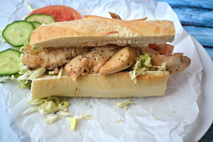 Sweet Onion and Teriyaki Chicken Sandwich- Instant Pot Recipe