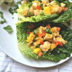 Mango Chicken Lettuce Wraps