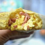Scrambled Eggs Puff Pastry Pies