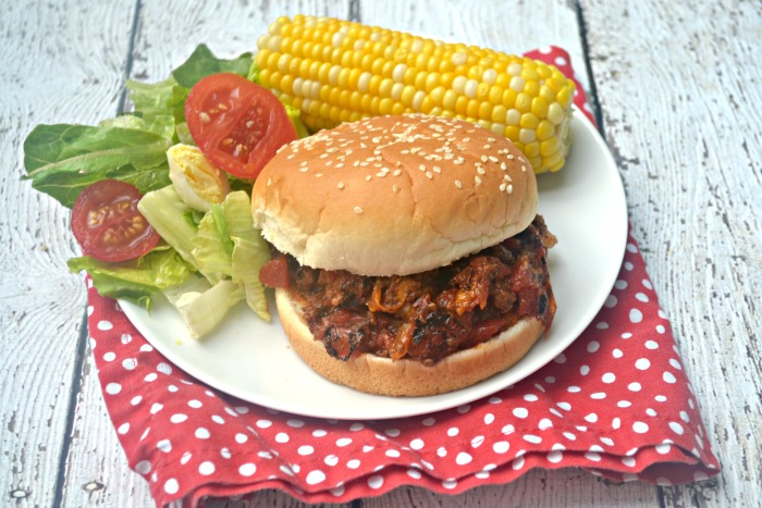 Pressure Cooker Fire Roasted Tomato Sloppy Joes