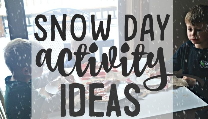 Snow Day Activity Ideas