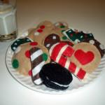 Felt Christmas Cookies!