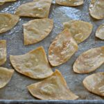Homemade Tortilla Chips in 15 minutes!