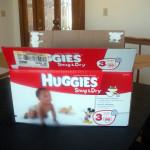 Mod Podged Diaper Box